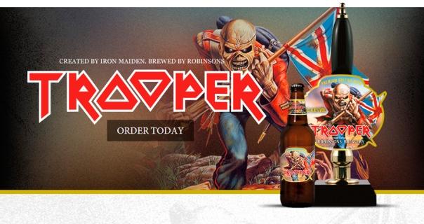 Trooper beer